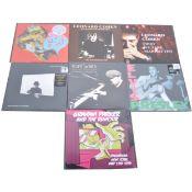 Seven modern release LP vinyl records