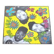 De La Soul; 3 Feet High and Rising, original LP vinyl record (1989).