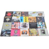 """Approx sixty-nine 7"""" single records; including The Jam, New Order, Happy Mondays etc"""