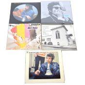 Bob Dylan; Four LP vinyl records and a box set