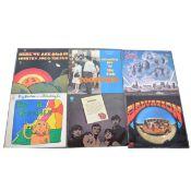 Six US psychedelic rock / folk rock vinyl LP records