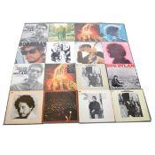Bob Dylan; Twenty-three LP vinyl records