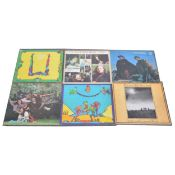 Six The Incredible String Band LP vinyl records