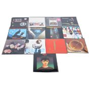 Thirteen LP vinyl records; including, Marc and the Mambas - Untitled, The Mock Turtles etc