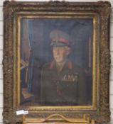 Paul Fitzgerald (1922-2017), oil on canvas, Portrait of The Lord Freyberg, signed and dated 1950