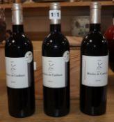 A box of six bottles of Moulin de Canhaut Medoc 2005 (o.w.c.)