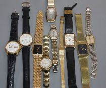 A group of mixed jewellery and watches