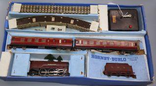 A Hornby Dublo 'Duchess of Atholl train set (EDP2) boxed
