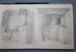 An Alfred Provis sketchbook