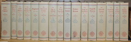 16 volumes of The Oxford History of England