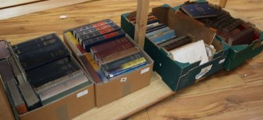 Four boxes of general books, including works by Winston Churchill