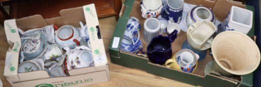 A quantity of mixed ceramics