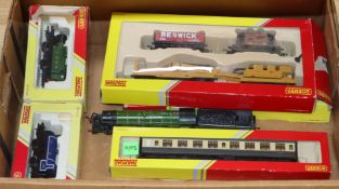 A collection of Hornby 00 gauge, boxed