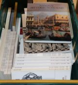 A quantity of assorted fine art back catalogues