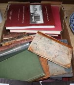 A quantity of 18th and 19th century books relating to Kent and Sussex
