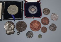 Mixed coins etc.