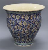 A Persian style jardiniere height 39cm