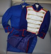 Three opera costumes from Cosi Fan Tutti