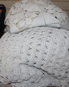 Three French crochet bedspreads