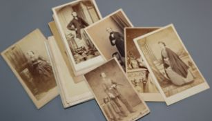 A collection of 47 mixed Victorian photographs