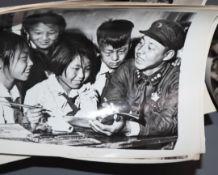 A quantity of Asian photographs