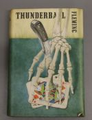 Fleming, Ian - Thunderball, 1st edition (1st impression, 1st issue), (8), 9-(254)pp including half