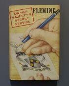 Fleming, Ian - On Her Majesty's Secret Service, 1st edition (1st impression), (8), 9-288pp including