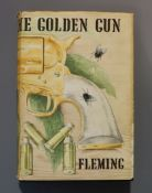 Fleming, Ian - The Man with the Golden Gun, 1st edition (1st impression, 2nd state), (VIII), 9-221pp
