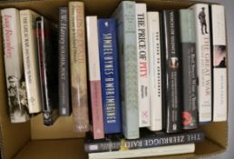 A collection of works relating to British Military history and WWI related poetry (29 books, in 2