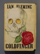 Fleming, Ian - Goldfinger, 1st edition (1st impression, 1st issue, 1st state), (4), 318pp