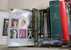 Cricket interest: Bradman albums, prints etc