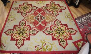 An Aubusson style foliate design tapestry approx. 240 x 220cm