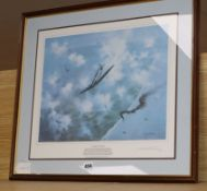 Michael Turner, limited edition print, 'Against the Odds', signed in pencil and numbered 158/850, 39
