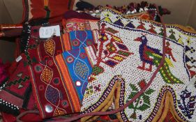 A quantity of African textiles