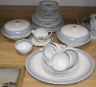 A Susie Cooper for Crown Works Burslem, tea and dinner service