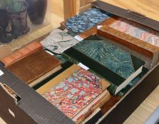 A collection of 18th and 19th century bindings, including: Evelyn (John), Memoirs, 2nd edn, Vols I-