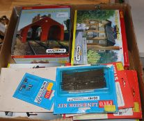 Hornby 00 gauge, a large collection of models and accessories, many items boxed, including a Steam