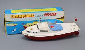 A Sutcliffe Commodore Cruiser model, boxed