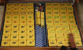 A Mahjong set