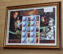 Star Wars - Revenge of the Sith FDC's - Austrailian - rare