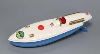 A Sutcliffe Bluebird I model, boxed