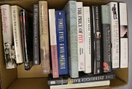 A collection of works relating to British Military history and WWI related poetry (59 books, in 4