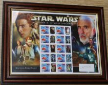Star Wars - Attack of the Clones, Australian, rare FDC's