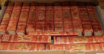 A box of early 20th century children's books