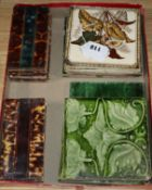 A quantity of assorted tiles