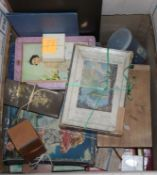 A collection of assorted old games and jigsaws