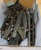 A small collection of Hornby Dublo track, rolling stock, etc.