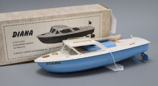 A Sutcliffe Diana model, boxed