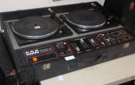 Cloud Series 12 DJ decks and HH PA system in good working order