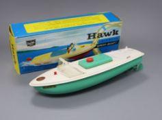 A Sutcliffe Hawk model, boxed